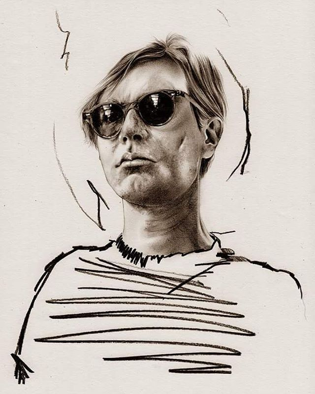 Happy birthday Andy #andywarhol #MitjaBokun #fashionillustrator