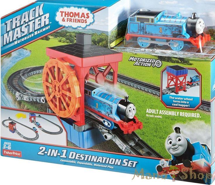 Thomas Track Master Pálya két célállomással alapkészlet (DVF71)