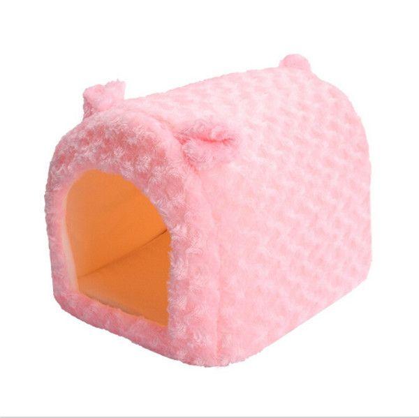 Goedkope Roze Zachte Warme Hond Bed Huis Kennel Fleece Huisdier Kat Konijn Puppy Pluche Cozy Nest Mat Pad Kussen JK673450, koop Kwaliteit Huizen, kennels en pennen rechtstreeks van Leveranciers van China: Pink Soft Warm Dog Bed House Kennel Fleece Pet Cat Rabbit Puppy Plush Cozy Nest Mat Pad Cushion JK673450USD 7.39-11.43/p