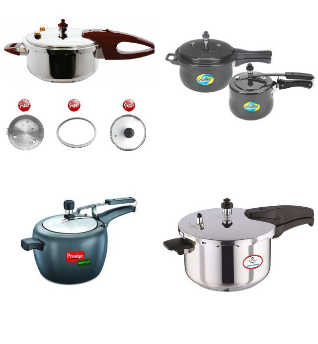 Cookers Online Aluminium Stainless Steel Cooker In By Aanand Shah