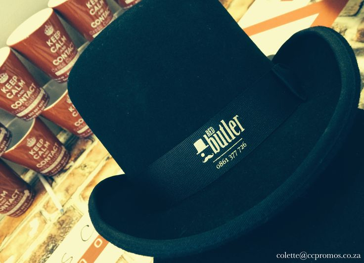 Fun Top Hats we did for a local Agency.  Imagine we still wore these as every day attire? :) Need our help for your own promo/event? Get in touch: colette@ccpromos.co.za