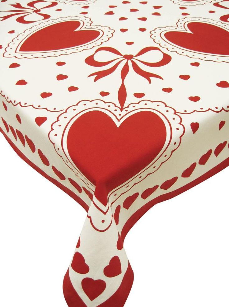 Valentine Tablecloth.
