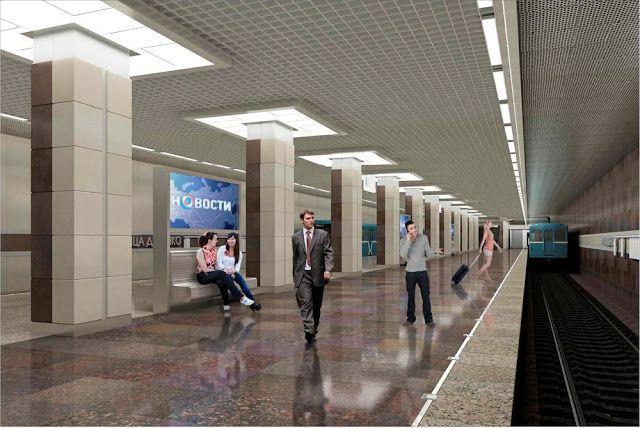 Транспортный блог Saroavto: Москва: Станция метро «Ховрино» откроется до конца...