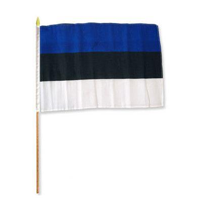 FlagsImporter Estonia Traditional Flag and Flagpole Set
