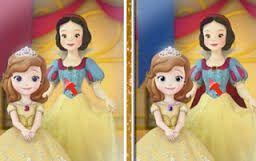 Resultado de imagen de buscar diferencias dibujos princesas