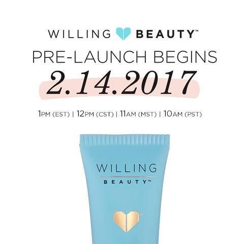Enrollment times for Tuesday!! You will need your mentors email address and fast internet connection!  Message me Or email me kmichels1@gmail.com with any questions before the date. Willing Beauty prelaunch is Feb 14th through March 24th! The first 2000 enrolled will become official in April and then more added each day