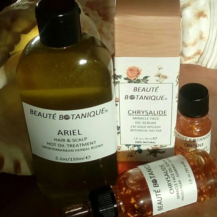 CHRYSALIDE, our Best Seller facial oil, and our herbal hair oil ARIEL will revive your skin and your hair in no time!