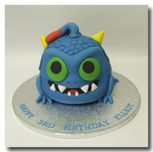 Skylanders Cake - Wrecking Ball