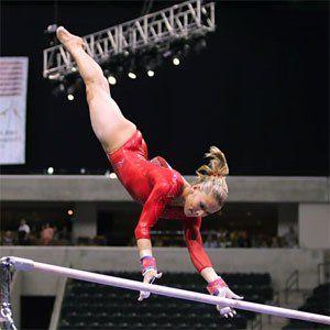 Olympic gymnastics hopeful Alicia Sacramone rocks these moves in the gym