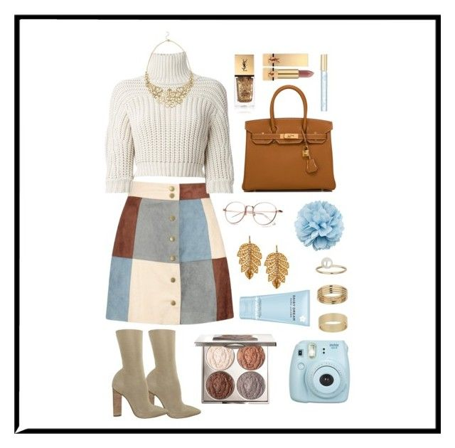"""""""Paced"""" by mishcacao on Polyvore featuring Boohoo, Brunello Cucinelli, adidas, Hermès, Gucci, Chantecaille, Yves Saint Laurent, Marc Jacobs, Fujifilm and Miss Selfridge"""