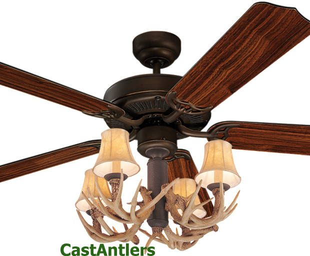 rustic ceiling fan 287 rustic ceiling fans amp lighting from castantlers 29926