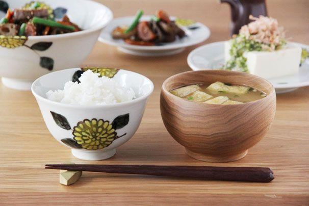 色絵菊 飯碗 (九谷青窯・徳永遊心) | 九谷青窯 | cotogoto