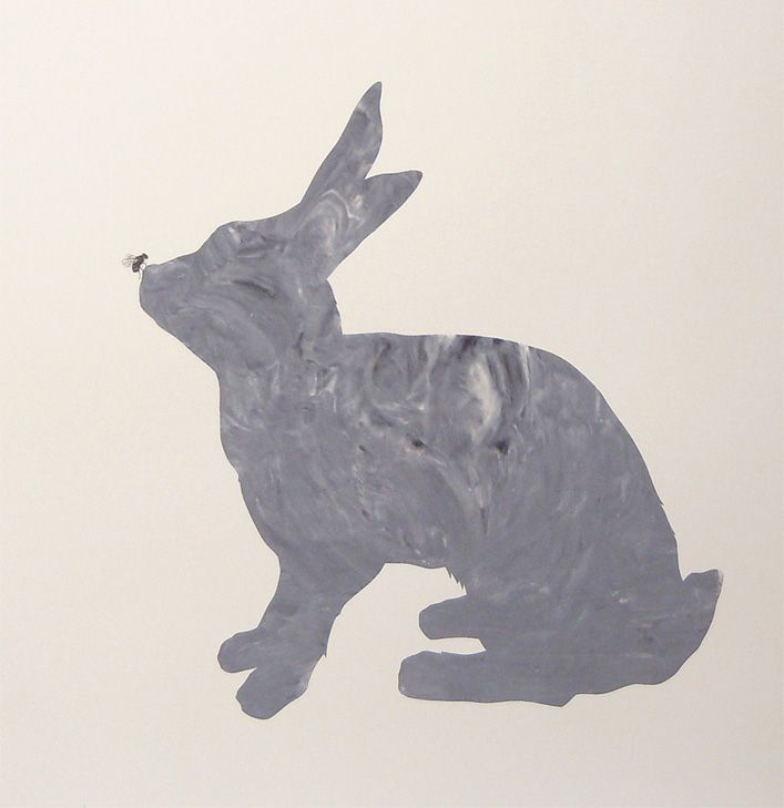 Parnell Gallery artist Anna Stichbury Little Peter Rabbit - Grey http://www.parnellgallery.co.nz/artworks/artist-anna-stichbury/little-peter-rabbit-grey/