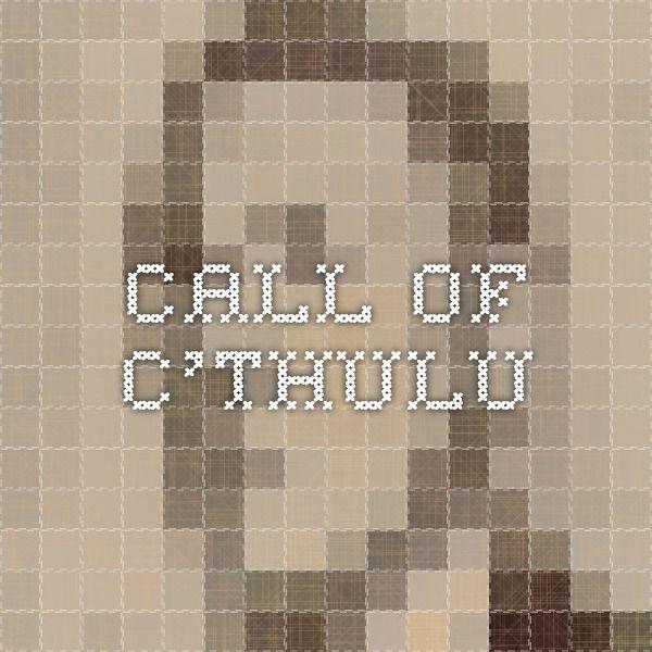 Call of C'thulu