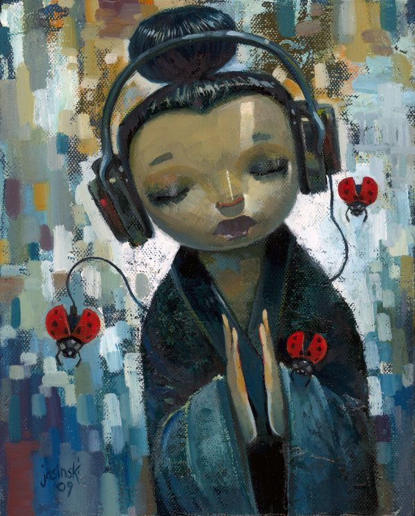 art by:  Jasinski: Wall Art, Artists Jasinski, Sources Murals, Wall Murals, Art Prints, Illustration, Aaron Jasinski, Products, Eye