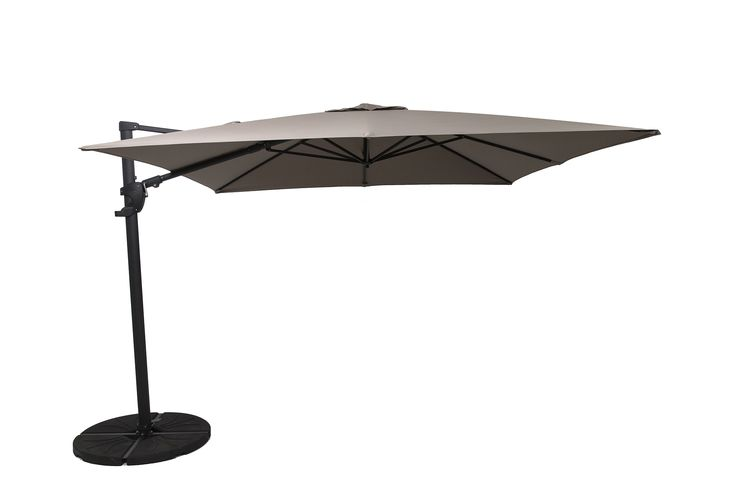 Norfolk Leisure 3m Square Cantilever Parasol Open 399 with cover and base included