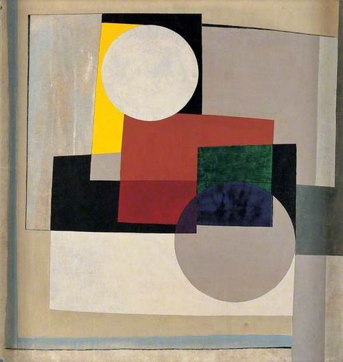 """2 Circles"" | Ben Nicholson (1945)"
