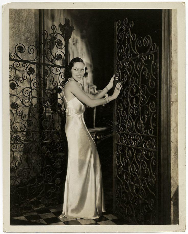 1932 Art Deco Glamour Girl Adrienne Ames Sublime Vintage Jack Shalitt Photograph