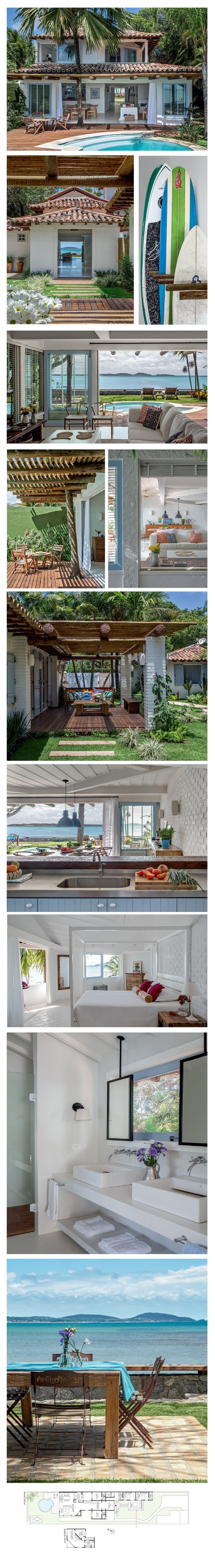 Beach house in Buzios http://casa.abril.com.br/materia/reforma-na-casa-em-buzios#1