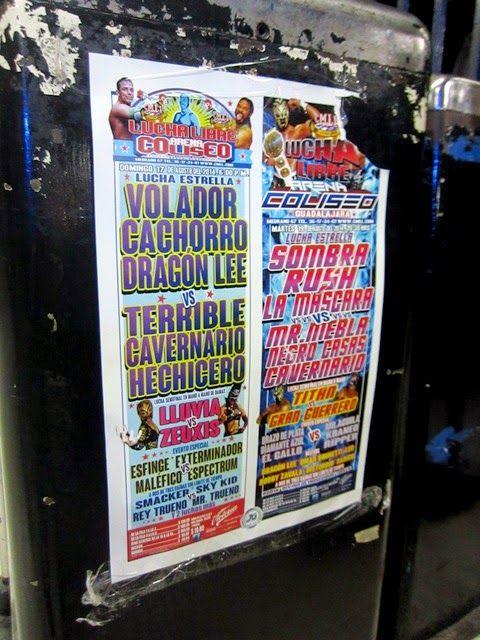 #CoffeeBreak: Los Martes de Luchas en la Arena Coliseo! # ...
