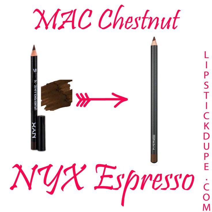 MAC-Chestnut-dupe-NYX-Espresso-lip-liner.jpg (1000×1000)
