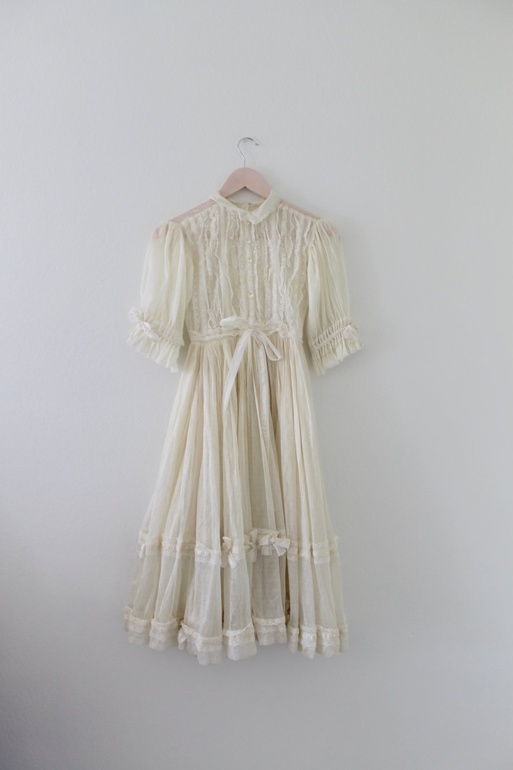 Vintage Lace Fairy Dress