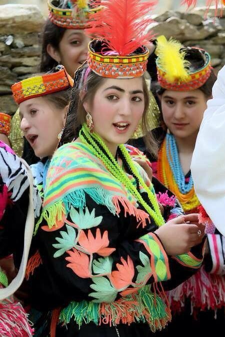 Faces of Kalash, Pakistan.