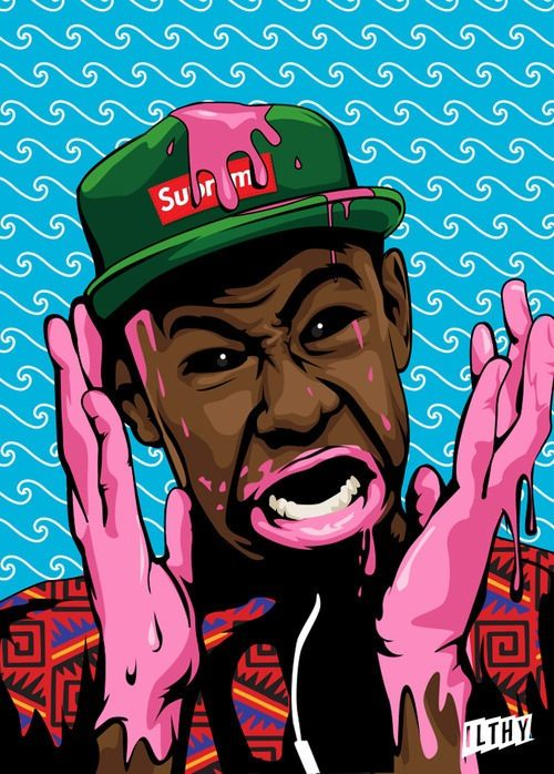 ofwgkta, tyler the creator, odd future, illustration