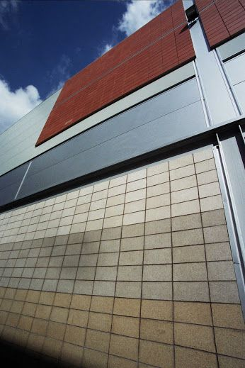 Ceramic Ventilated Rainscreen Cladding Systems with