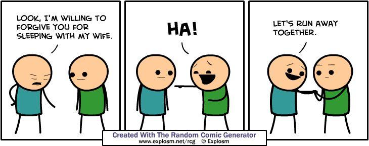 Random Comic Generator 2.0 - Explosm.net