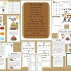 This is a fun end of year first grade unit for a Smarty Pants Camp.  It has a camping theme and includes several fun scavenger hunts, a math scaven...