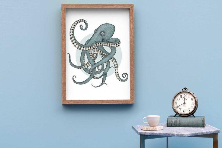 The Octopus has Eyes Framed