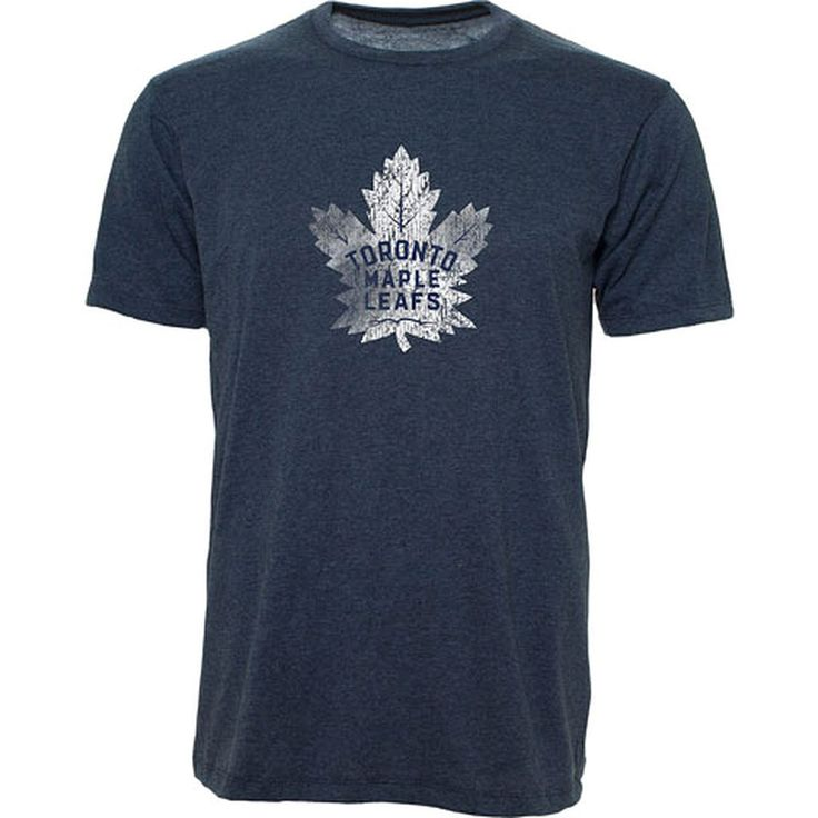 Toronto Maple Leafs Old Time Hockey Men's Distressed S/S Tee - shop.realsports