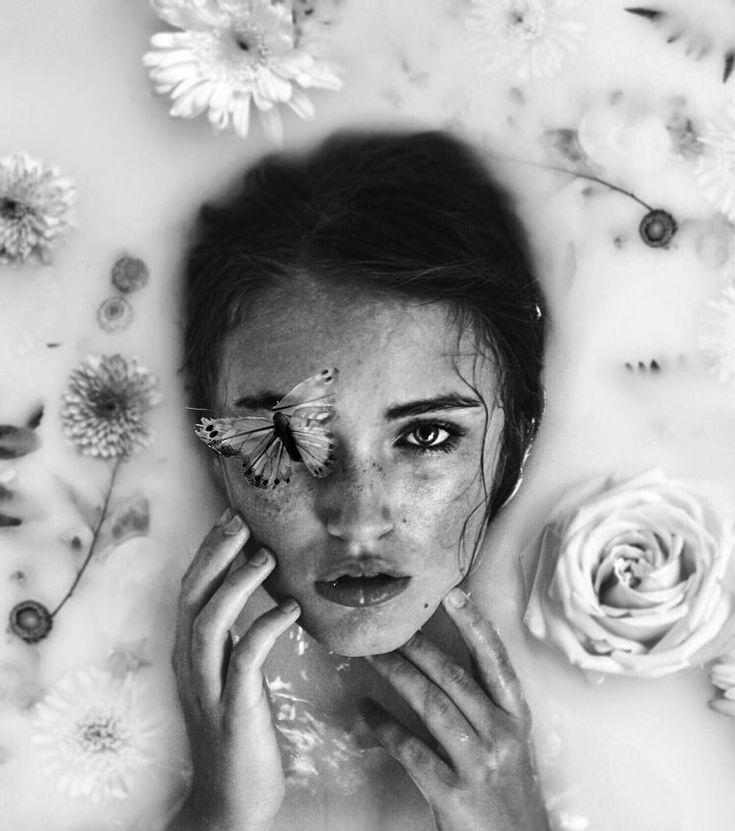 Surreal Self-Portrait Photo Manipulations By Annegien Schilling