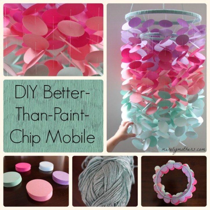 DIY Better-Than-Paint-Chip Mobile – E V I E + S A R A H
