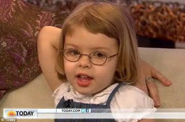 Mensa's youngest member, 3, appears on Today show... and says she needs 'to go poop'