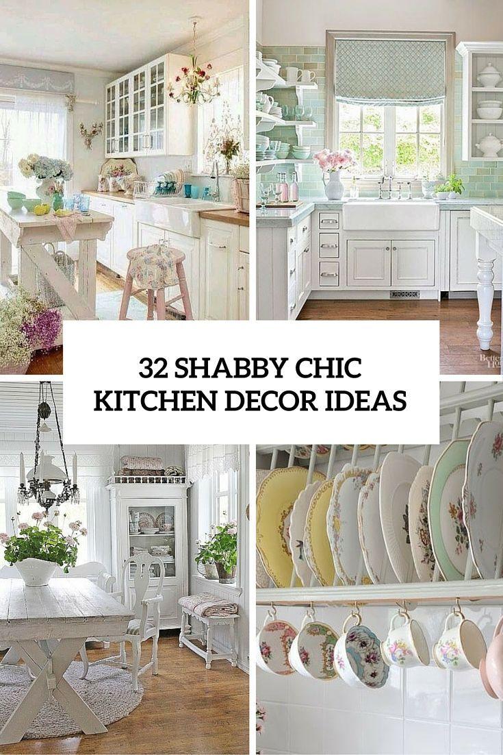 63 best Shabby Chic Ideas for Kitchen images on Pinterest | Shabby ...