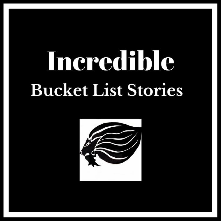 Great Bucket List Stories - cover