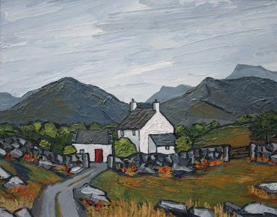 David BARNES - Hill Farm in Gwynedd