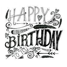 Afbeeldingsresultaat voor handlettering verjaardagskaartje maken
