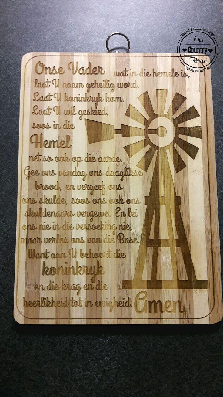 Bamboo-cutting board Onse Vader