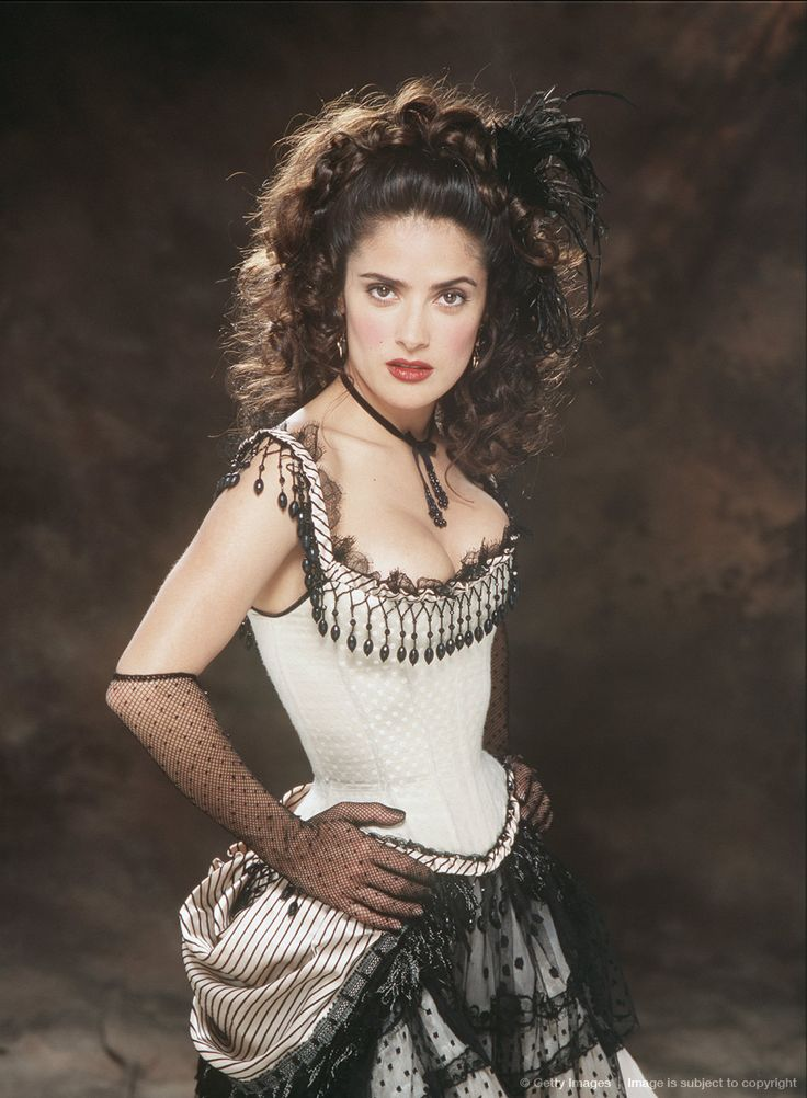 Image detail for -Actress Salma Hayek as Rita Escobar in the film 'Wild Wild West', 1998.