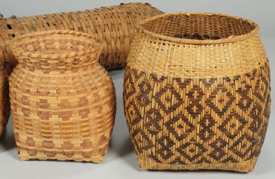 Materials Used For Making A Basket : Best images about cherokee on