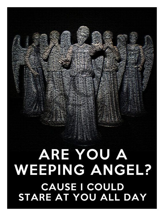 Doctor Who Weeping Angel Valentine