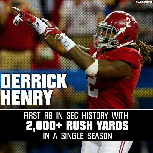 Derrick Henry #Alabama Football
