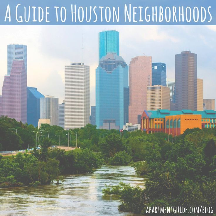 As the fourth-largest city in the U.S., Houston, Texas is a buzzing metropolis that millions of people call home. If you're thinking about moving to Houston, take a look at this guide to all the Houston neighborhoods!