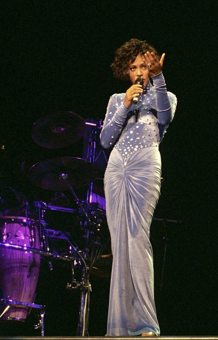 Whitney Houston in Marc Bouwer