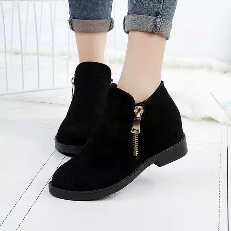 Купить Сапоги. Простые 2016 девушки корейского осень обувь короткие сапоги…