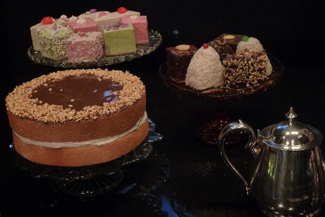 Lyons Corner House cakes (models) by jennyj, via Flickr