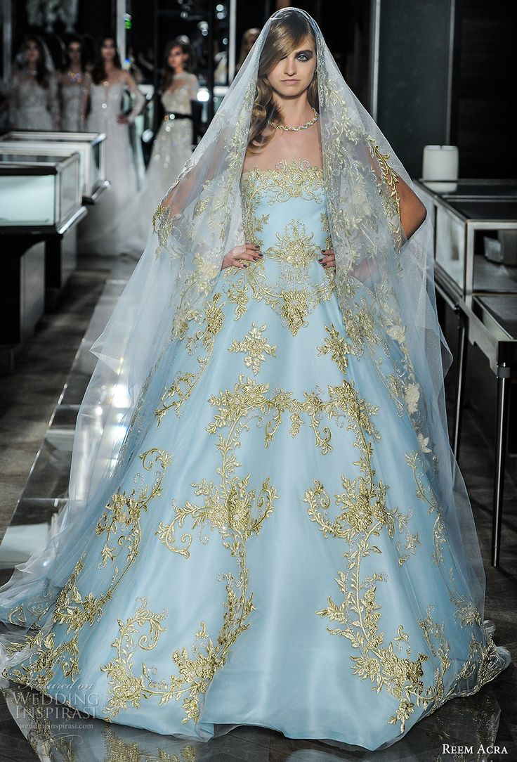 73 best Fashion - Reem Acra images on Pinterest | Wedding frocks ...